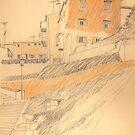 Giebel in Italien by HannaAschenbach