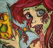 Zombie Ariel by HollyElizabeth