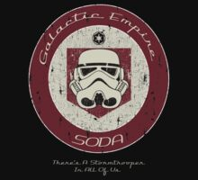 Galactic Empire Soda (Juggernog)  by Designsbytopher