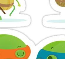 Little turtles Sticker