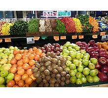 Colors of good health Photographic Print