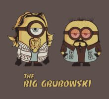 The Big Gruboswki by Donnie Illustration