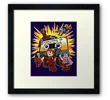 Everything Is Awesome Mix Framed Print