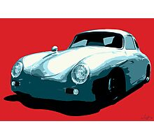 Porsche 356 pop art Photographic Print