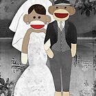 Sock Monkey Wedding by Janet Carlson