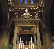 Altar at Basilica of St. Mary by TScottAdams