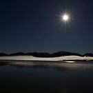 Moonlit Lake by Paul Campbell  Photography