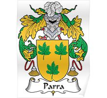 Parra Coat of Arms (Spanish) Poster