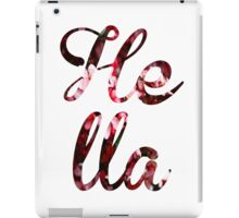 Hella Flower iPad Case/Skin