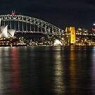 Sydney Harbour from the chair by Paul Campbell  Photography