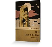 The King in Yellow Greeting Card