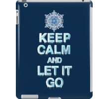 Keep Calm & Let It Go iPad Case/Skin