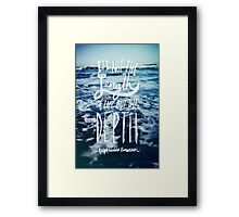 Emerson: Depth Framed Print
