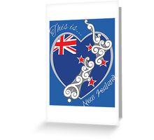 This is New Zealand Greeting Card