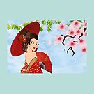 Geisha (8293 views) by aldona