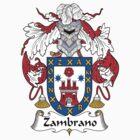 Zambrano Coat of Arms (Spanish) by coatsofarms