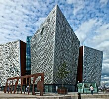 The Titanic Museum, Belfast by Ludwig Wagner