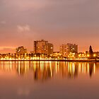 Pre-Sunrise over the Lagoon - Lagoon Beach, Cape Town by SeeOneSoul