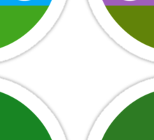 TMNT - Circley! Sticker