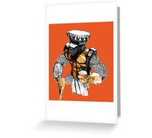 Iron Knight Greeting Card