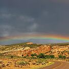 Rainbow at the End of the Road by Eileen McVey