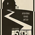 Psycho Movie Poster - Beige Version by FinlayMcNevin