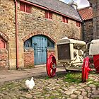 The Tractor and the Chicken  by Rob Hawkins