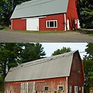 Barn Makeover Before & After by wolftinz