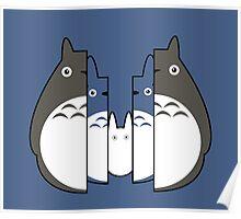 Totoro Russian Dolls Poster