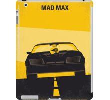 No051 My Mad Max minimal movie poster iPad Case/Skin