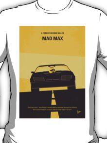 No051 My Mad Max minimal movie poster T-Shirt