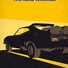 No051 My Mad Max 2 Road Warrior minimal movie poster by Chungkong