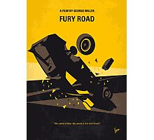 No051 My Mad Max 4 Fury Road minimal movie poster Photographic Print