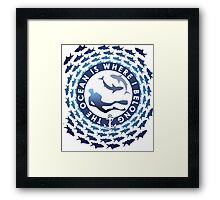 The Ocean Is Where I Belong Framed Print