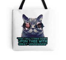 Galaxy cat glasses - pulp fiction quote jules Tote Bag