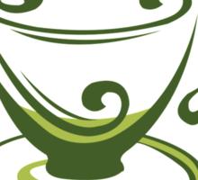 Tea Cup Of Wellness Sticker