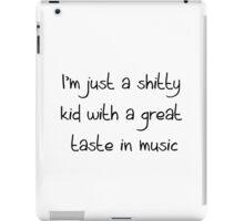 shitty kid 1 iPad Case/Skin