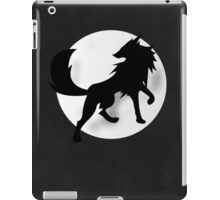 Wolf Silhouette iPad Case/Skin