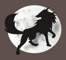 Wolf Silhouette by jlechuga