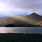 Sunlight over Derwentwater by Tom Gomez