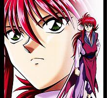 Yu Yu Hakusho - Kurama by kerakas