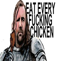 The Hound and the chicken by FranTheHuman