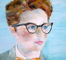 CHILD with GLASSES by lautir
