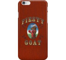 Fiesty Goat iPhone Case/Skin