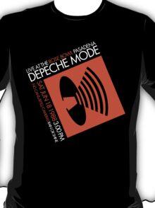 Depeche Mode : Rose Bowl 1988 poster tribute T-Shirt