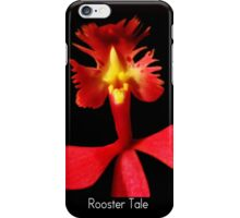 Rooster Tale - Orchid Alien Discovery iPhone Case/Skin