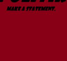 Politik Logo Sticker