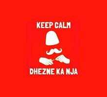 Albanian keep calm by eggsmut