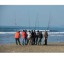 SURF CASTING FISHING- MARE-ITALIA-EUROPA- VETRINA RB EXPLORE 18 FEBBRAIO 2013 - Photographic Print