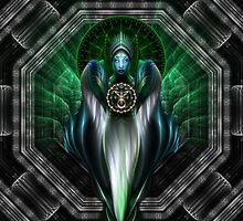 Riddian Queen Of Emerald Gold by xzendor7